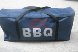 Wholesale Bbq Tool Storage - Wholesale- 1X BBQ grill cook tools handbag storage oxford 79*36*19cm