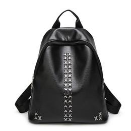 Wholesale custom school backpacks - Ladies Backpack Style cheap backpacks for girls black girl backpacks for school Custom LOGO drop shipping