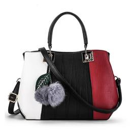 Wholesale Extra Large Fashion Tote Bags - Fashion Patchwork Designer Women Brand PU Leather Handbags Women Messenger bags Crossbody bags shoulder handbag Ladies pouch bolsas