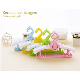 Wholesale Brand Coat Skirt - 5pcs Brand Multifunction Child Plastic Clothing Drying rac Little Baby Newborns Dedicated Stand Rack Clothes Hangers Wholesale Free Shipping