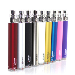 Wholesale Ego C Twist Variable Voltage - Vision Spinner I ego c twist 3.3-4.8V Variable Voltage VV battery 650 900 1100 1300mAh e cigs cigarette for ego atomizer
