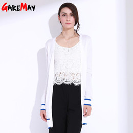 Wholesale Long Cardigan Women Long Sleeve Knitwear Female Loose Open Cardigan Kardigany Damskie Oversized Sweater Shrug GAREMAY