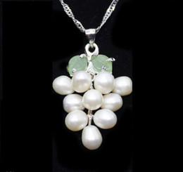 Cruz verde jade collar colgante online-Luck Jewelry 18K GP Light Green Jade Cross Colgante Collar