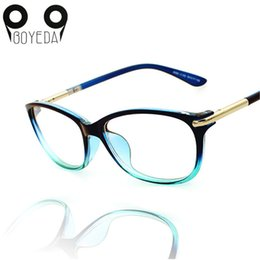 Wholesale Grade Spectacle Frame - Wholesale- BOYEDA Spectacle Frame Female Grade Clear Computer Glasses Fashion Reading Cat Eye Glasses Women Optical Prescription Eyewear