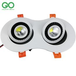 2019 luci registrabili regolabili regolabili Faretti a incasso LED da incasso 6W 10W 20W Dimmerabile retrofit regolabile Soffitto orientabile verso il basso sconti luci registrabili regolabili regolabili