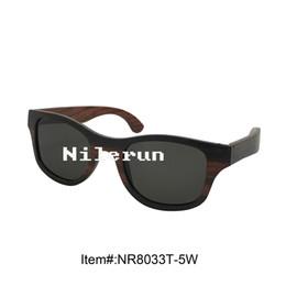 Wholesale Wood Presses - gray polarized lens pressed laminate wood sunglasses