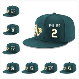 Wholesale Green Gray Snapbacks - Men's Player Cap adjustable snapback 54Sonny Gray Classic Baseball Caps 24Rickey Henderson sports caps adult's Climing summer Mix order