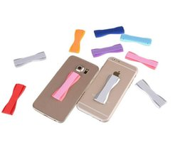 Wholesale Handle Pc Tablet - New Arrival Mobile Phone Handle Elastic Finger Grip Belt Secure Phone Holder For Cell Phone Tablet PC