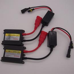 Wholesale 55w H1 Hid Xenon Bulb - 55W HID Ballast for HID Headlight Xenon Kit Bulb Lamp Light H1 H4 H7 H11 H13 9004 9005 9006 9007 White 6000K