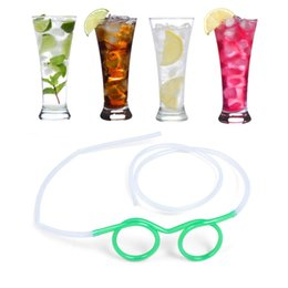 Wholesale Unique Products For Wholesale - Drinking Glasses straw fun novelty soft tube flexible unique kid adult funny drinking straws party Party must great products for restaurant
