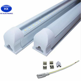 Wholesale High Efficiency Led - 8 ft LED tube T8 Cree LED Fluorescent Tubes SMD2835 Integrated Replacement LED Tubes 2.4m 45W Warm Natural Cool White High Efficiency