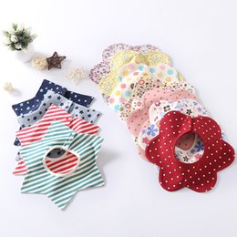 Wholesale Baby Boy Burp Clothes - 2018 New baby bibs & Burp Cloths Baby Feeding Clothes Toddler towels Cotton Baby Accessories Boys Girls Waterproof bib many styles A7886