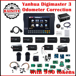 Wholesale Digimaster Price - OBD2 OBDII odometer reset mileage correction TOOL Yanhua Digimaster 3 Digimaster III odometer reset tool with 980 Tokens with best price