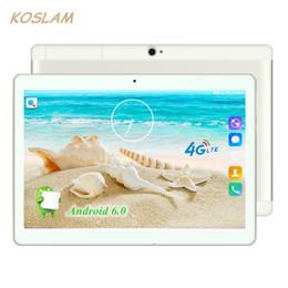 """Wholesale Call Tab - Wholesale- 10.1 Inch Android 6.0 Tablet PC Pad Phablet Tab Quad Core 2GB RAM 16GB ROM 10.1"""" 1920x1200 IPS 4G TDD FDD Dual SIM Phone Call"""