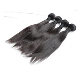Wholesale Order Weave - Brazilian Hair 8A Straight Hair 2 Pieces Sample Order Quality Malaysian Indian Peruvian Cambodian Human Hair Weft Best Quality Free Shipping