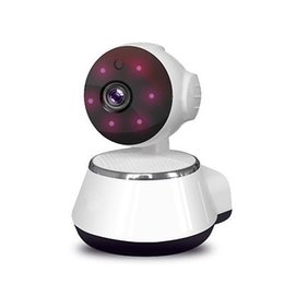 Wholesale Camera Ir Detection - V380 HD 720P Mini IP Camera Wifi Wireless P2P Security Surveillance Camera Night Vision IR Baby Monitor Motion Detection Alarm