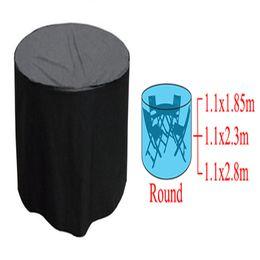 Canada Vente en gros - Haute qualité et durable tissé polyéthylène rond en plein air meubles de jardin couverture de table de patio chaise imperméable supplier air chairs wholesale Offre