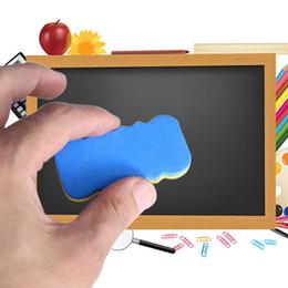 2019 школьные доски 4PCS 1 Board Blackboard Blackboard Cleaner Сухой маркер Pen Eraser для офисных принадлежностей Канцелярские товары Цвет Случайно дешево школьные доски