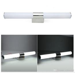 Wholesale Vanity Contemporary - LED Mirror Light Lamp bathroom vanity led light Bathroom Wall Lights AC85-265V Acrylic modern simple LED indoor light