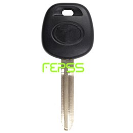 Wholesale Toyota Car Key Chips - New Uncut Replacement Transponder Ignition H Chip Car Key for Toyota 2014-2016