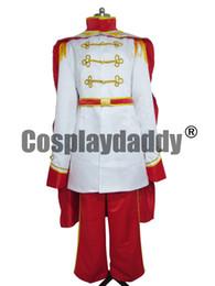 Wholesale Custom Made Mermaid Costume - The Little Mermaid Prince Eric Costume Adult Halloween Cosplay