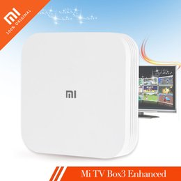 Originale XIAOMI Mi BOX 3 2 GB da 8 GB Enhanced TV BOX 3S Pro 4K MT8693 2-core Cortex-A72 + 4-core Cortex-A53 2GHz 4K Wifi Media Player + B cheap xiaomi mi box da xiaomi mi box fornitori