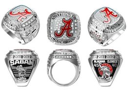 Wholesale Amazing Christmas Gifts - 2016 Brand New Alabama Crimson Tide National Championship Football Ring Size 11 Amazing Quality for men Collection