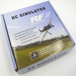 Wholesale Rc Flight Simulators - Wholesale-FPV Quadcopter 22 in 1 RC USB Flight Simulator Cable for Realflight G7 G6 G5.5 G5 5.0 upgraded rc simulate helicopter Free ship