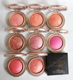 Wholesale Blush Palettes - Mineralize Baked Blush Bronzer Powder Palette Shimmer & Matte Bright Easy Wear Natural Blushes Brand HERES B2UTY
