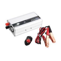 Wholesale Inverter Converter Charger - Wholesale- Universal 1500W Car Power Converter DC 12V to AC 110V Car Charger Portable Voltage Inverter Power Transformer