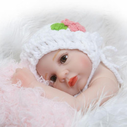 Wholesale Peanuts Doll - Newborn Little Peanut Baby Doll Lifelike Realistic Baby Toy Soft Silicone Reborn Fake baby