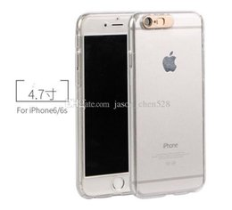 Wholesale Iphone Flash Skin - LED 360 full body call lightning case Call Lightning Flash Case Full Body Hard PC For Iphone 7 7P 6 6P 5 Tempered Glass Screen Clear Skin