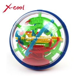 Wholesale game steps - XC929A 2015 New Magic Puzzle Ball Educational Magic Intellect Ball Puzzle Game Magnetic Balls for Kids-100 Steps