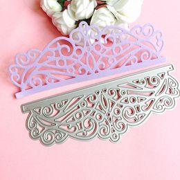 Wholesale Diy Cards - Lace DIY Metal Cutting Dies Stencil Scrapbook Card Album Paper Embossing Craft