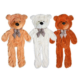 Wholesale Wholesale Big Plush Teddy Bear - 170cm-180cm three colors big teddy bear skin coat plush toys stuffed toy baby toy birthday gifts Christmas gifts