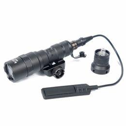 Wholesale Rifle Led Light - Marking Tactical M300B Mini Scout Rifle Light Flashlight For 20mm Picatinny Rail for hunting