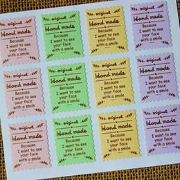 Adesivo di diario deco online-Seal Label Sticker Timbro Sticker Set Scrapbooking Confezione Regalo Confezione Diario Deco Nozze Deco 50 fogli / lotto 600 pz
