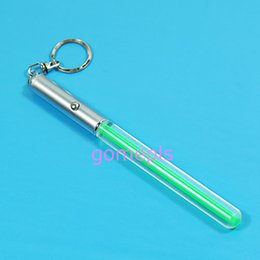 Wholesale Lightsaber Wholesale - M89CHOT 20pcs Lot Durable Glow Pen Flash Torch Magic Wand Stick Lightsaber Keychain LED Light Magic wand flash