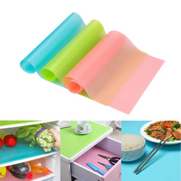 Wholesale Plastic Table Mats - Multipurpose Refrigerator Freezer Mat Fridge Anti-fouling Anti Frost Waterproof Pad Kitchen Table Wardrobe Drawer Mats Can Cut