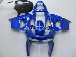 Wholesale High Quality Fairing Body Kit - High quality body parts fairing kit for Kawasaki Ninja ZX9R 98 99 blue black motorcycle fairings set ZX9R 1998 1999 TY29