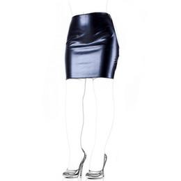 Wholesale Adult Skirts - Adult Sex Products Faux Leather Slave Spanking Skirt Open Hip Bondage Fetish Lingerie Erotic Sexy Lace Up Mini Dress