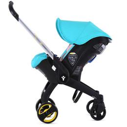 Wholesale Newborn Car Seat Safety - Wholesale- Portable Baby Stroller 4 in 1 Newborn Infant Sleeping Basket Baby Child Car Safety Seat Stroller Folding Pram high quality