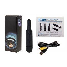 Full HD 1080 P mini Câmera T189 Reunião Caneta Câmera Caneta de Bolso Mini DV DVR Digital video gravador de voz Da Câmera de