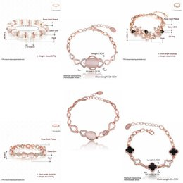 Wholesale Diamond Bow Bracelets - European American Bow Cat Eyebrow Bracelet Diamonds Adjustable Cat's Eye Bracelet Lowers Dripping Inlaid Diamond Pearl Eyebrow Bracelets