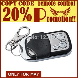 Wholesale Garage Door Remote Duplicator - 433mhz garage door rf universal wireless remote controller duplicator; polular universal remote control sliding gate operator