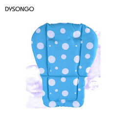 Wholesale Car Umbrella Cover - Wholesale- DYSONGO Children Car Thermal Thicken Pad Baby Stroller Pad mattresses Stroller Seat Cushion Cover Kids Carriage Umbrella Car Pad