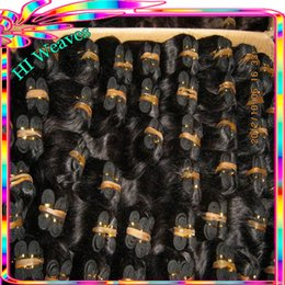 Wholesale Express Shipping Hair - 1.5kg deal Wholesale cheap weave remy Indian temple wavy hair 8 inch Short Bob looking Fedex express shipping