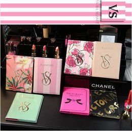Wholesale Photo Covers - 2017 Newest Fashion Brand Design Card Holders Hot Sale Women's Passport Holders Waterproof PU Printed Card Holders Free Shipping