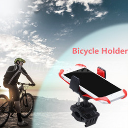 Wholesale Bicycle Mount Clamp - Bike Phone Mount Holder Bicycle Holder Best sale Universal Cradle Clamp for iOS Android Smartphone GPS other Devices