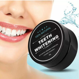 Wholesale Teeth Cleaning Kits - Food grade teeth Powder Bamboo dentifrice Oral Care Hygiene Cleaning natural activated organic charcoal coconut shell tooth Yellow Stain